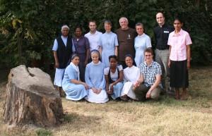 Gemeinschaft der Schwestern mit Herbert, Stephan und Ralph Walterspacher 2013