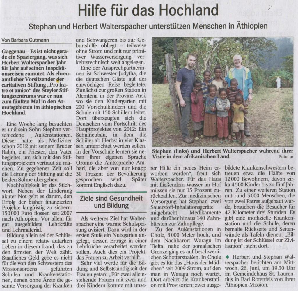 Pressebereicht BT 2013