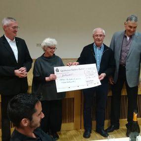Spendenübergabe Fastenessen 2018 Bad Rotenfels
